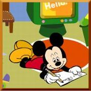 Click here to play Mickey Mouse Making My Room game