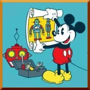Click here to play Mickey's Robot Laboratory game