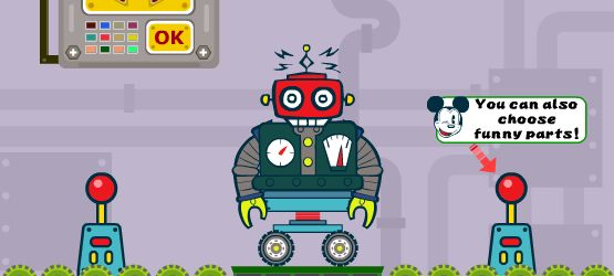 Picture from funny Robot Laboratory game