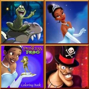 The Princess and the Frog games