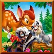Bambi Puzzle Games